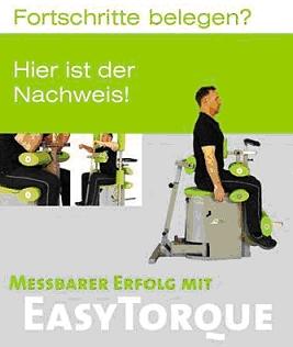 "EasyTorque - Der ""Ringsum Muskelcheck"" im Vital-Test-Center"
